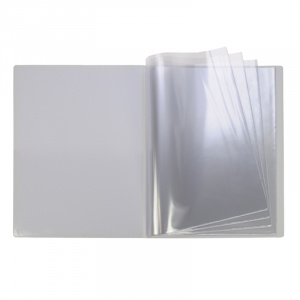 A4 White PVC 18 Pocket Display Book