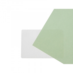 3 Part Badge Gloss Heat Seal Lamination Pouch