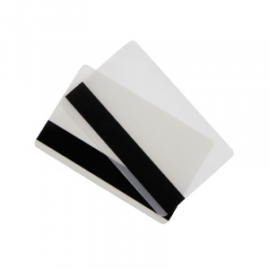 2 Part Credit Card Gloss Heat Seal Lamination Pouch with Barcode Obscuration Panel
