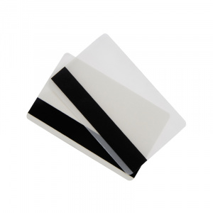 2 Part Credit Card Gloss Heat Seal Lamination Pouch with Hi-Co Magnetic Stripe