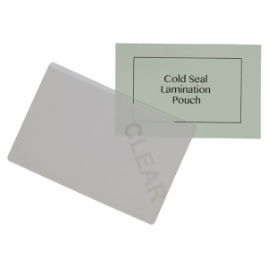8mm5 x 115mm Cold Seal Lamination Pouch - 400 Micron