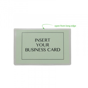 Self Adhesive Pocket for Business Cards