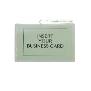 Self Adhesive Pocket for Large Business Cards