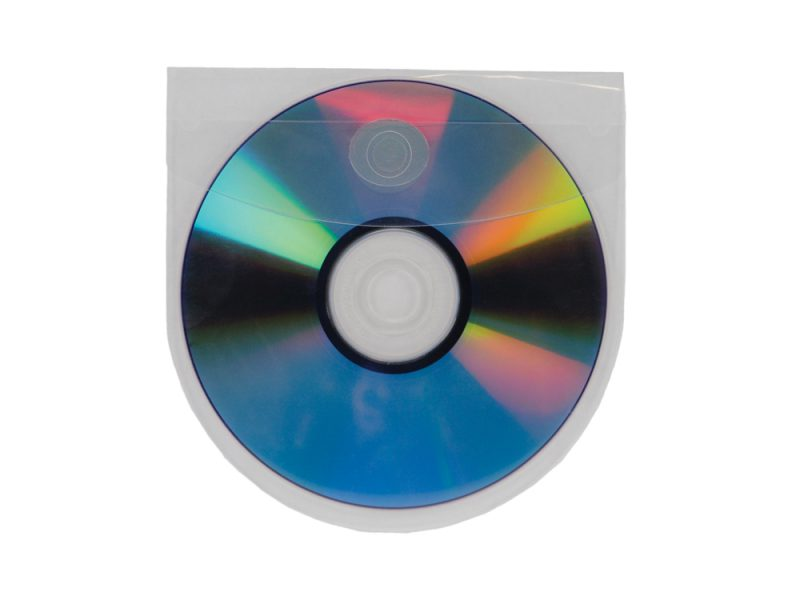 Self Adhesive CD/DVD Pocket Round with Flap, cd pocket, dvd pocket, cd adhesive pocket, dvd adhesive pocket, data disc pocket, pocket for cd
