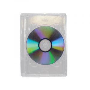 Self Adhesive DVD Pocket for Jewel Case - No Flap