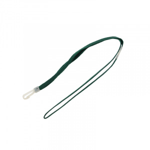 Green Breakaway Lanyard - Plastic Dog Clip