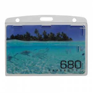 Rigid Card Holder - Landscape
