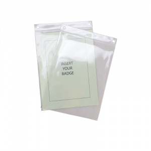 A5 Portrait Soft ID Card Holder