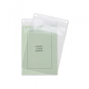 A6 Soft ID Card Holder