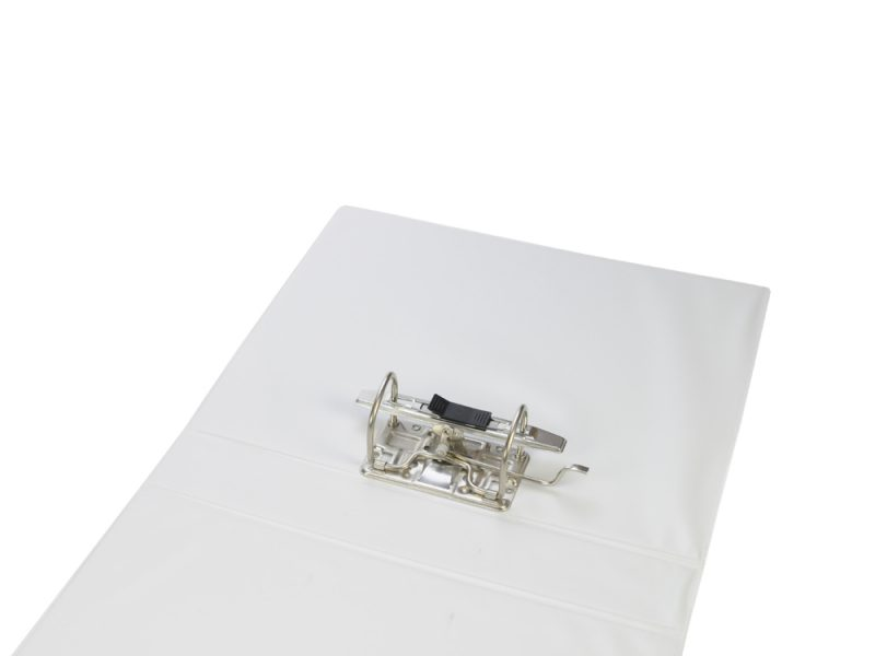 A4 White PVC Binder - Fitted 2LA 65mm Mechanism, binder, pvc binder, office binder, office stationery