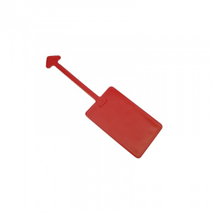 Red Luggage Tag