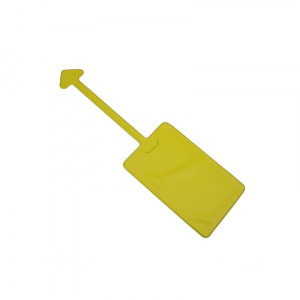 Yellow Luggage Tag