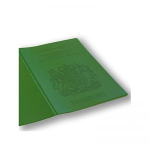 Green Passport Cover, holiday wallet, passport wallet, going holiday, pvc passport cover, passport cover