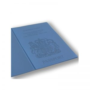 Light Blue Passport Cover, holiday wallet, passport wallet, going holiday, pvc passport cover, passport cover