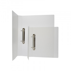 A4 Frosted Polypropylene Binder - Fitted 2D 40mm Mechanism