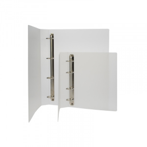 A4 Frosted Polypropylene Binder - Fitted 4D 25mm Mechanism