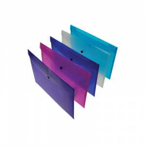 Mixed Pack of 5 Polypropylene Envelopes