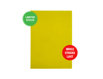 Yellow PVC Letterfile