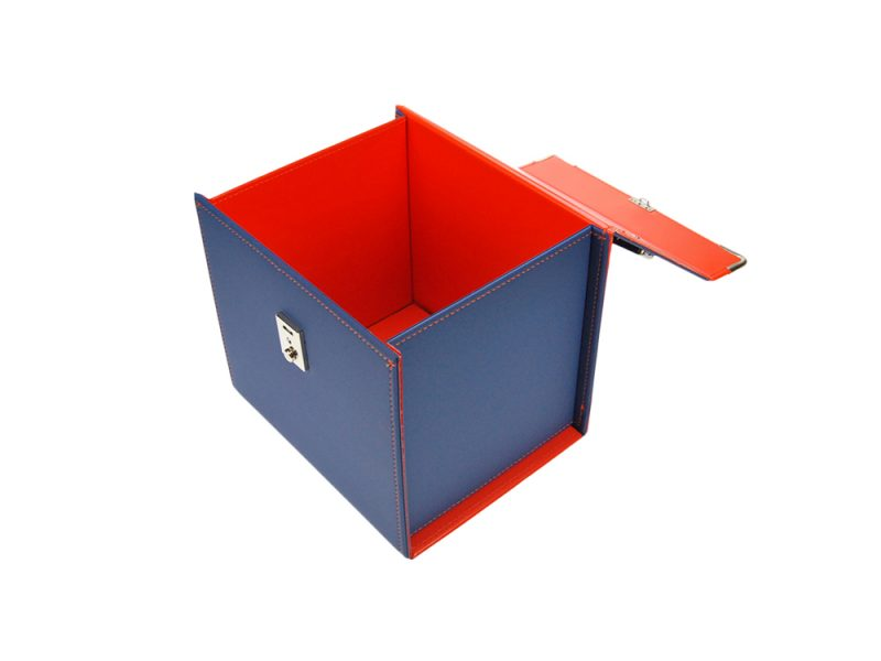 custom carry boxes, bespoke presentation boxes uk, stitched product, leather, pu stitched, stitched stationery