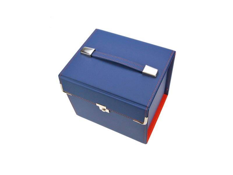 custom carry boxes, stitched product, leather, pu stitched, stitched stationery