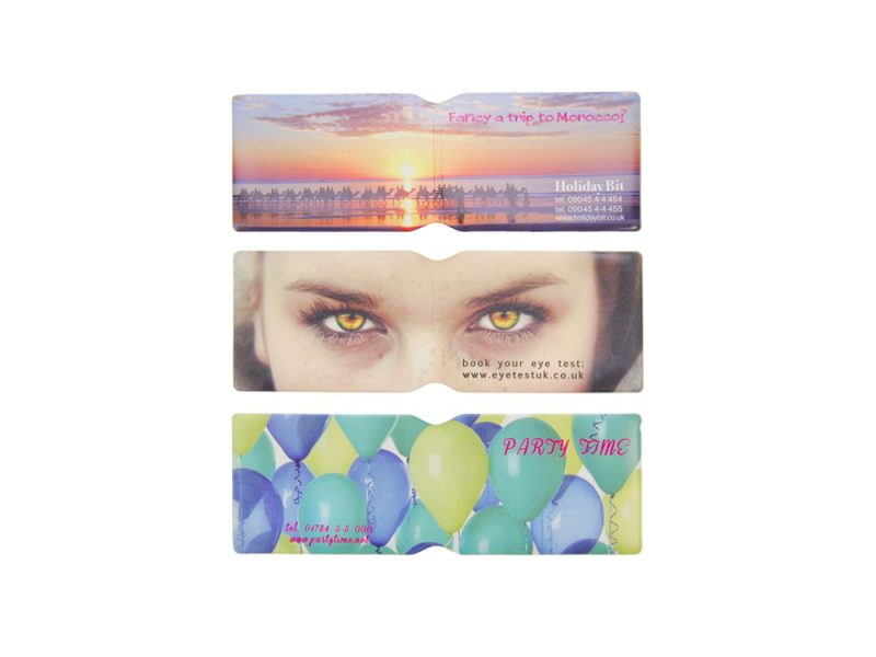 custom printed oyster card holders