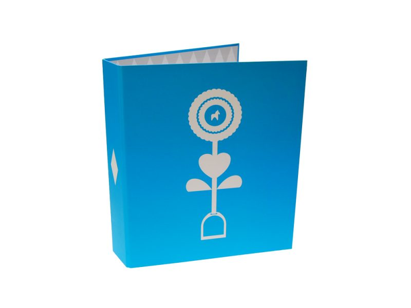 Paper over board printed bespoke binders, POB, bespoke, print, digital print, screen print, lihto print, foil block, A4, A3, A5, AQ, paper over board office supplies