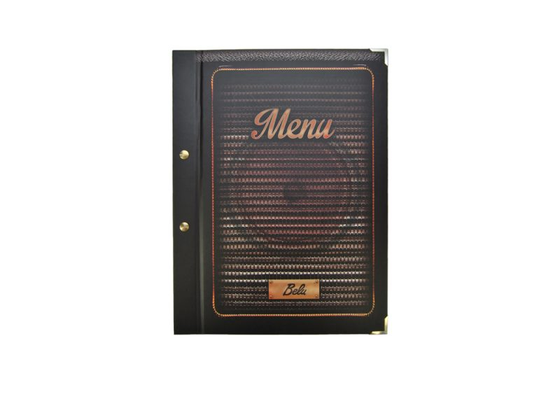 custom restaurant menu covers