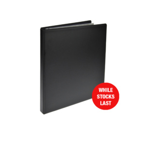 Black PVC CD Storage Binder 30 Discs, CD disc storage, cd binder, cd pocket, dvd, dvd pocket, dvd binder, blu-ray, blu-ray storage, blu-ray binder, blu-ray pocket