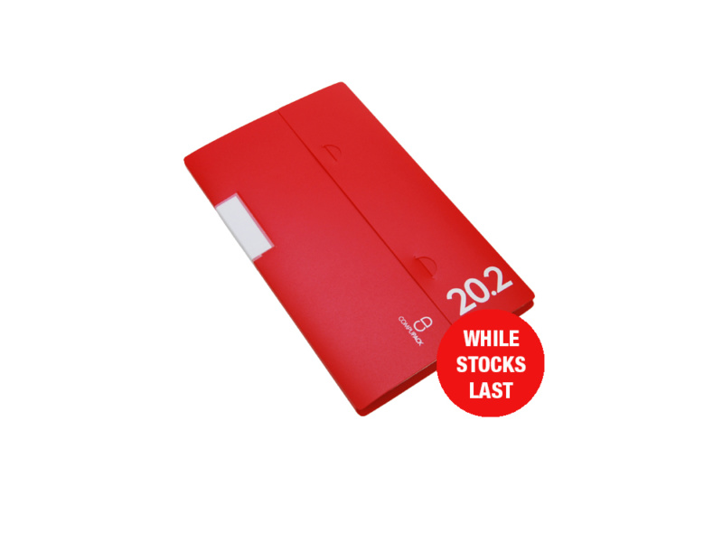 Professional Range CD Storage Binder Red 20.2, CD disc storage, cd binder, cd pocket, dvd, dvd pocket, dvd binder, blu-ray, blu-ray storage, blu-ray binder, blu-ray pocket