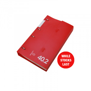 Professional Range CD Storage Binder Red 40.2, CD disc storage, cd binder, cd pocket, dvd, dvd pocket, dvd binder, blu-ray, blu-ray storage, blu-ray binder, blu-ray pocket