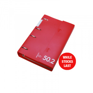 Professional Range CD Storage Binder Red 50.2, CD disc storage, cd binder, cd pocket, dvd, dvd pocket, dvd binder, blu-ray, blu-ray storage, blu-ray binder, blu-ray pocket